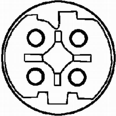 Capteur de cognement - HELLA - 6PG 009 108-301