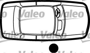 Poignée de porte - VALEO - 256917