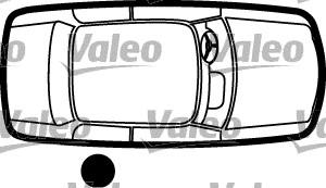 Poignée de porte - VALEO - 256892