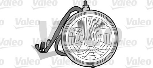 Projecteur longue portée - VALEO - 067688
