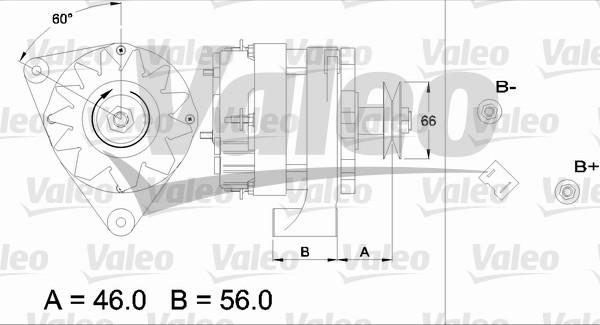 Alternateur - VALEO - 433429