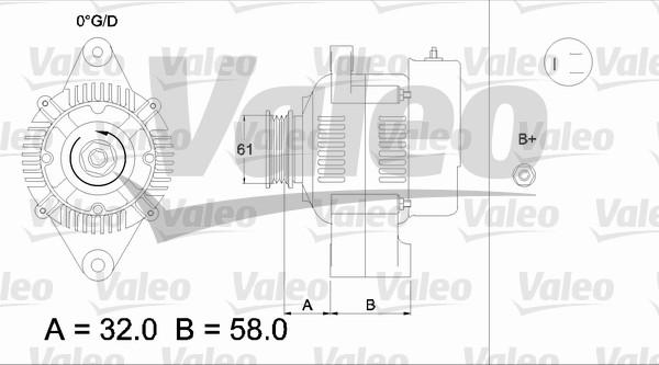 Alternateur - VALEO - 436521