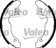 Kit de freins, freins à tambours - VALEO - 554501