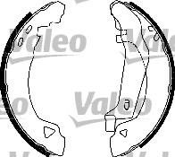 Kit de freins, freins à tambours - VALEO - 554834