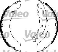 Kit de freins, freins à tambours - VALEO - 554842
