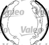 Kit de freins, freins à tambours - VALEO - 554851