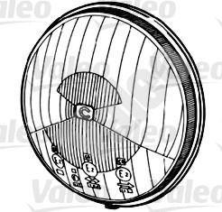 Projecteur antibrouillard - VALEO - 067679