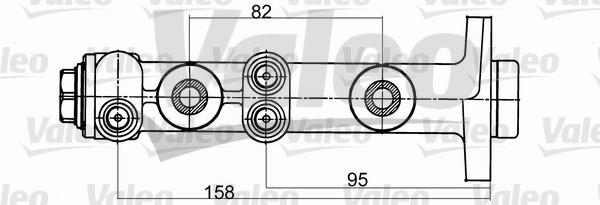Maître-cylindre de frein - VALEO - 402098