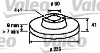 Disque de frein - VALEO - 186186