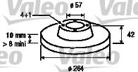 Disque de frein - VALEO - 186855