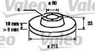 Disque de frein - VALEO - 197114