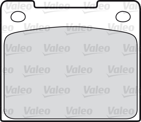 Kit de plaquettes de frein, frein à disque - VALEO - 598338
