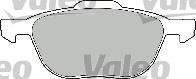 Kit de plaquettes de frein, frein à disque - VALEO - 598649