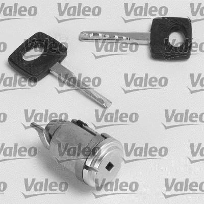 Cylindre de fermeture, serrure de contact d'allumage - VALEO - 256625