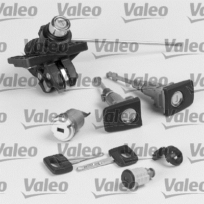 Jeu de cylindres de serrures - VALEO - 256637