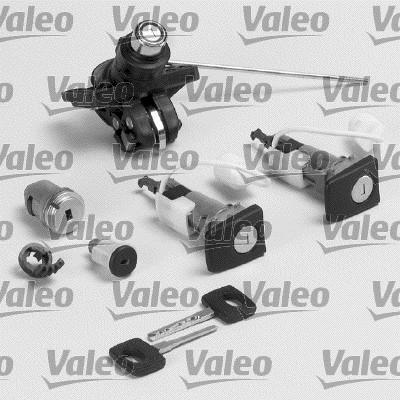 Jeu de cylindres de serrures - VALEO - 256639
