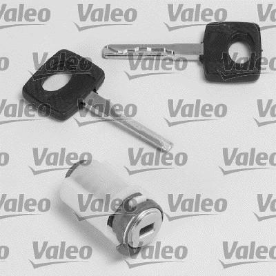 Cylindre de fermeture, serrure de contact d'allumage - VALEO - 256698