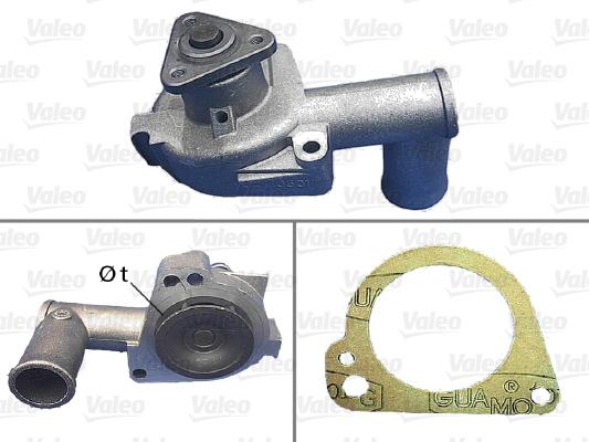 Pompe à eau - VALEO - 506001