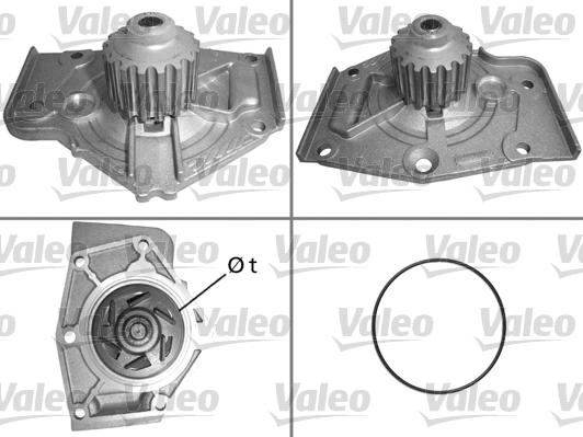 Pompe à eau - VALEO - 506004