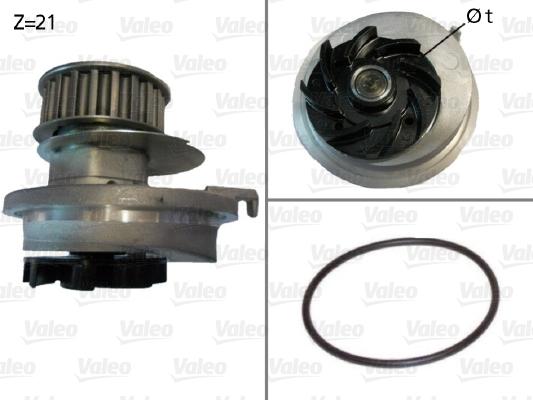 Pompe à eau - VALEO - 506005