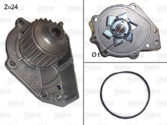 Pompe à eau - VALEO - 506018