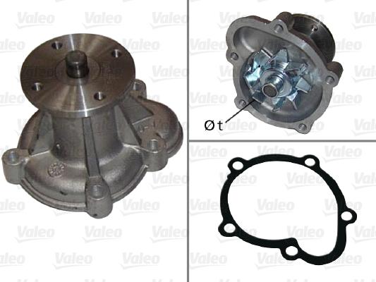 Pompe à eau - VALEO - 506023