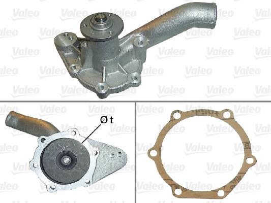 Pompe à eau - VALEO - 506025