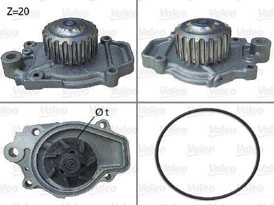 Pompe à eau - VALEO - 506028