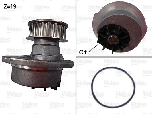 Pompe à eau - VALEO - 506030