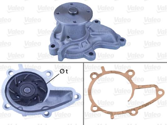 Pompe à eau - VALEO - 506037