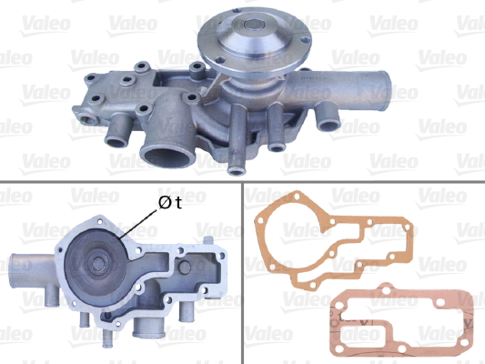 Pompe à eau - VALEO - 506043