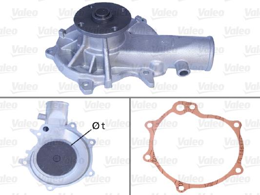 Pompe à eau - VALEO - 506048