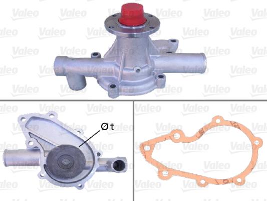 Pompe à eau - VALEO - 506052