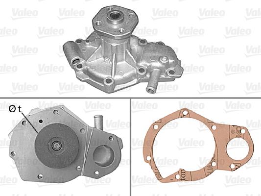 Pompe à eau - VALEO - 506074