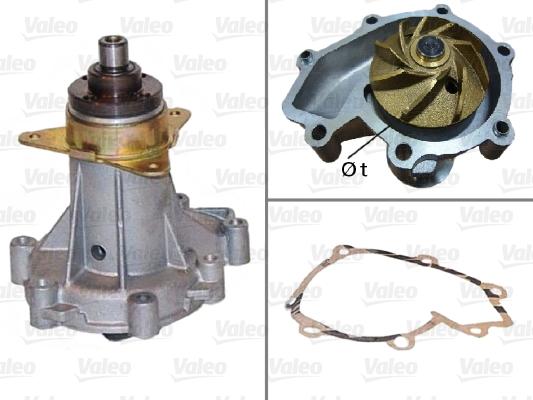 Pompe à eau - VALEO - 506078