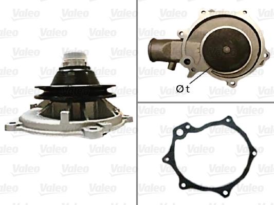Pompe à eau - VALEO - 506089