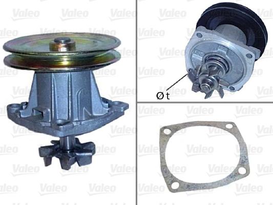 Pompe à eau - VALEO - 506092