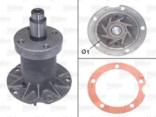 Pompe à eau - VALEO - 506097