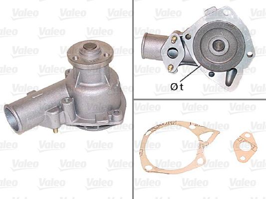 Pompe à eau - VALEO - 506098