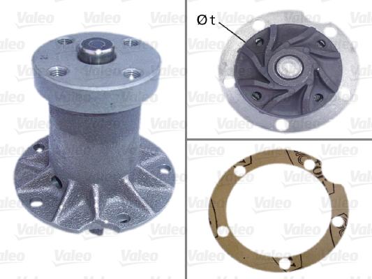 Pompe à eau - VALEO - 506100