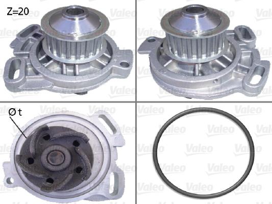 Pompe à eau - VALEO - 506105