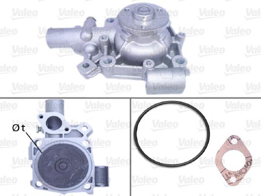 Pompe à eau - VALEO - 506106