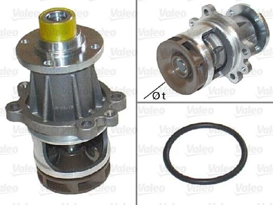 Pompe à eau - VALEO - 506110