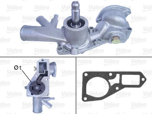Pompe à eau - VALEO - 506122
