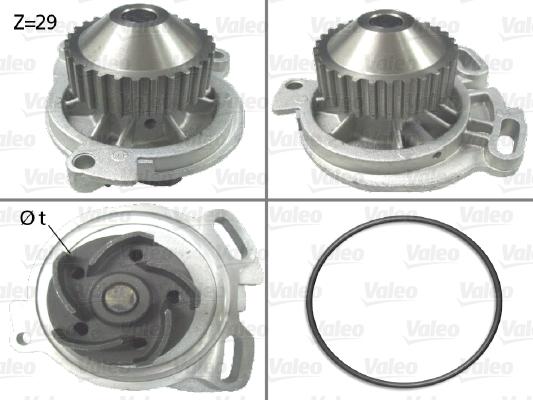 Pompe à eau - VALEO - 506132