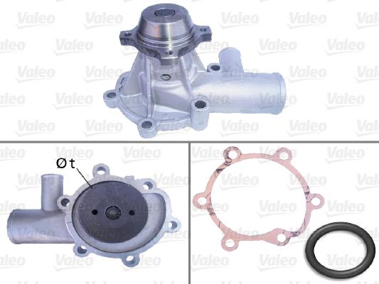 Pompe à eau - VALEO - 506133
