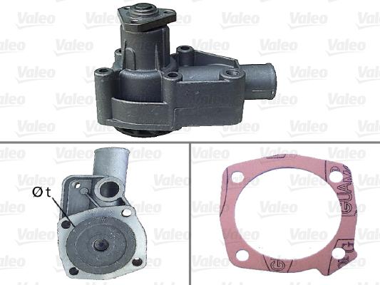 Pompe à eau - VALEO - 506134