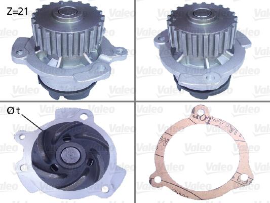 Pompe à eau - VALEO - 506151