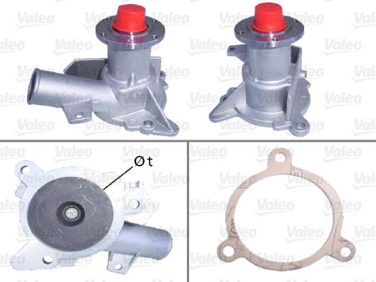 Pompe à eau - VALEO - 506169