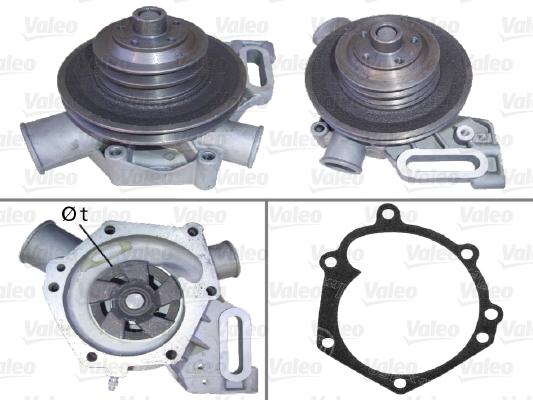 Pompe à eau - VALEO - 506178